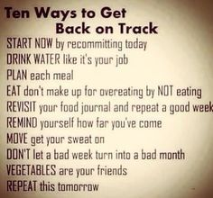 Health Motivation Diet is hard so it good to keep in mind that we'll have good days, bad weeks and just plan on getting back on track after falling off the wagon. Quick Weight Loss Tips, Weight Loss Help, How To Lose Weight Fast, Losing Weight, Reduce Weight, Health Motivation, Weight Loss Motivation, Exercise Motivation, Motivation Quotes