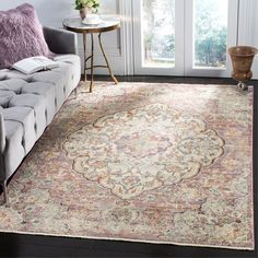 You'll love the Soren Cream/Rose Area Rug at Wayfair - Great Deals on all Rugs products with Free Shipping on most stuff, even the big stuff.
