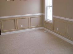 DIY Wainscoting Using Picture Frames! | Nifymag.com