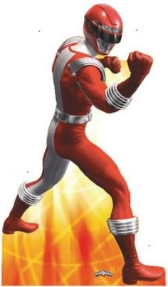 The Red Power Ranger Costume