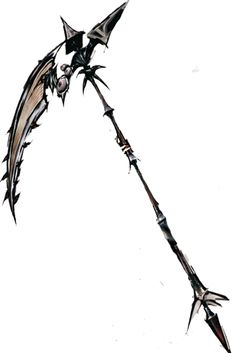 A death scythe used by a devil.