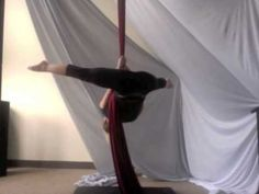 Alright all you budding aerialists. Gotta start somewhere. Aerial ABC's - Straddle Ups