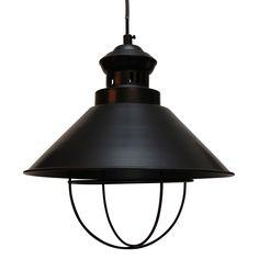 Black Cole Pendant Lamp