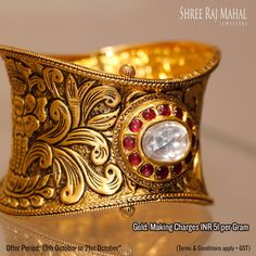 Today is the auspicious day to purchase gold, avail the best festive deals on jewellery from Shree Raj Mahal Jewellers.