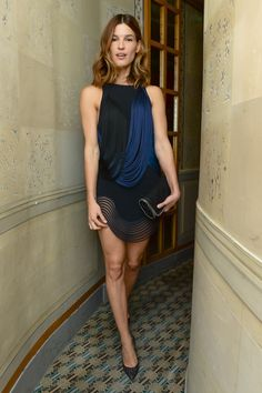 Hanneli Mustaparta attends our dinner in Paris last night to celebrate Tabitha Simmons' #SS15 collection. #PFW