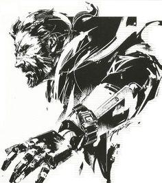 Scan of the artwork drawn for the MGSV Seiko #MetalGearSolid #mgs #MGSV #MetalGear #Konami #cosplay #PS4 #game #MGSVTPP