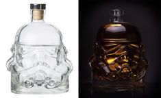 A Stormtrooper Decanter and shot glass. This design is based on the original helmet moulds produced for the first film back in '76.