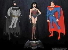 Bruce Timm // Superman the Animated Series Character Model ...
