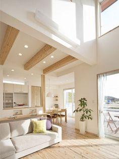 Vol.1 居心地の良いLDK - リビングダイニング - を考える(1)|アイレストホーム|暮らすほどに家族が健康になる家づくり