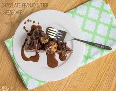 Chocolate Peanut Butter Cheesecake - Vegan Dessert on SOul Fresh Blog #vegan