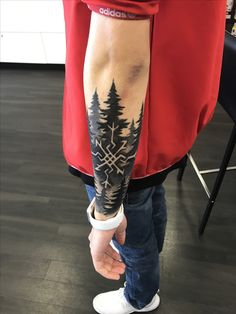 Dope forearm tattoo design