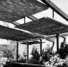 1964 How to Build Patio Roofs Great Mid Century Modern Eames Era Design Ideas   eBay