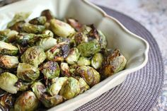 Roasted Brussels Sprouts  #PrimalPalate