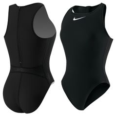 Nike Women's Solid Water Polo Swimsuit - Dick's Sporting Goods (training/workout suit)
