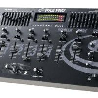 Pyle-Pro PYD1922 - 19'' Rack Mount 4 Channel Professional Mixer with Digital Echo   - 2 Turntable/8 Line Level (CD, Cassette Deck, MiniDisc, etc.)/2 Mic Inputs - 10-band Graphic Equalizer for Right and Left Channels - ECHO on/off Read  more http://themarketplacespot.com/dj-equipment/pyle-pro-pyd1922-19-rack-mount-4-channel-professional-mixer-with-digital-echo/