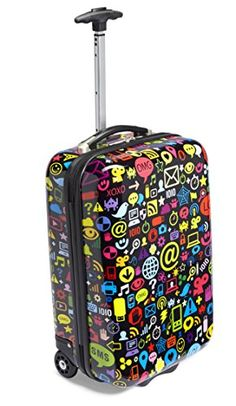 TrendyKid Travel Kool Luggage Chat Black >>> Check out the image by visiting the link.