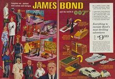 the world of James Bond toy set Greenbriar Picture Shows