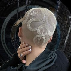 Hair Inspo, Hair Inspiration, Shaved Head Designs, Natural Hair Styles, Short Hair Styles, Shave My Head, Hair Tattoos, Hair Reference, Braids For Short Hair