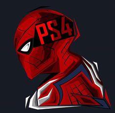 Homem-Aranha com o uniforme de The Amazing Spider-Man 2 para PS4