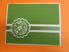Just Believe Floral notecard
