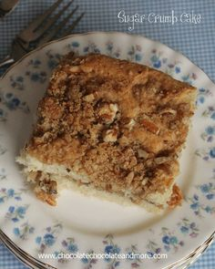 TweetSugar Crumb Cake-this coffee cake is great for breakfast or dessert! Remember life before Pinterest? When all the great ideas you wanted to someday get around to doing, you found them in magazines. And then you would cut out the page of that great idea and save it somewhere? In a folder, or notebook. Shoved …