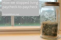 How we stopped living paycheck-to-paycheck—contributor @Kara @SimpleKids.net shares real, encouraging tips for easing your way out of debt.