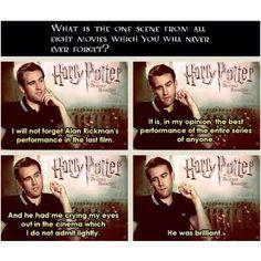 Alan Rickman Harry Potter Stories