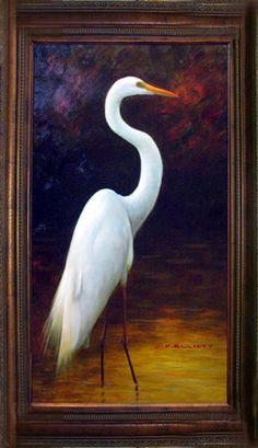 white heron symbolism