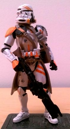 Airborne Clone Trooper Star Wars Figurines, Jazz Age, Clone Trooper, Star Wars Collection, Star Wars Clone Wars, Action Figures, Stars, Awesome, Hot