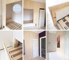 Modern Bedroom Design, Modern Kitchen Design, Home Interior Design, Home Bedroom, Girls Bedroom, Childrens Beds, Spare Room, Kidsroom, Kid Beds
