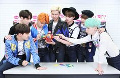 TV Asahi Posted a Photo of BTS [160225]