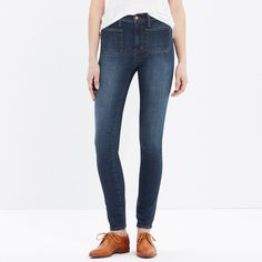 "Tall 10"" High Riser Skinny Skinny Jeans: Sailor Edition : AllProducts 