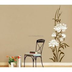 Grace Lotus Wall Decals