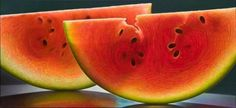 Vuing.com » Photo-realistic oil paintings of fruit and flowers by Dennis Wojtkiewicz