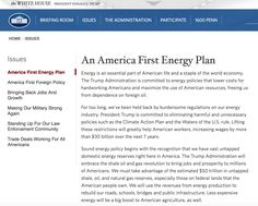 Donald Trump Just Replaced the White House Climate Website With…This