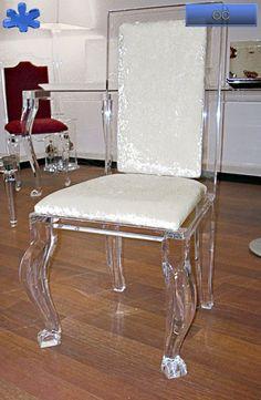 29 best acrylic chairs sedie in plexiglass trasparente for Sedie design furniture e commerce