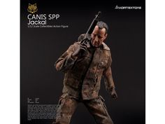 *PRE-ORDER* CANIS SPP JACKAL: YEW Series 1/12 Scale Action Figure By Vortex Toys