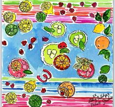 Stop, it's Fiesta Time! Lilly Pulitzer