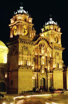 Iglesia de la Compañía, Cusco, Peru --   Foto: Promperú