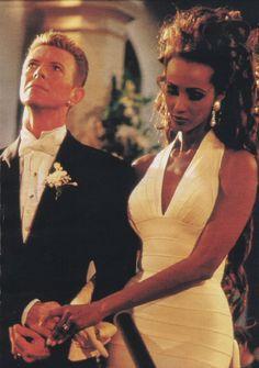 Posterolateral Community- David Bowie + IMAN'S Wedding