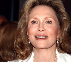 Famous Faces With: Braces: 5 Celebrities that Rocked Braces   Faye Dunaway