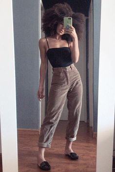 Mode Outfits, Retro Outfits, Cute Casual Outfits, Vintage Outfits, Summer Outfits, Girl Outfits, Vintage Fashion, Vintage Clothing Styles, Black Girl Fashion