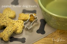 homemade dog biscuits on www.CherylStyle.com
