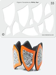 Авторские украшения ручной работы. г.Чита | VK Polymer Clay Bracelet, Polymer Clay Tools, Polymer Clay Projects, Polymer Clay Beads, Fabric Jewelry, Diy Jewelry, Jewelry Design, Jewellery, Silkscreen