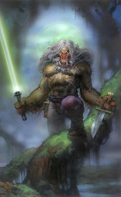 K'Kruhk one of my fav Jedi.