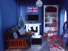 Union Jack Christmas by margaret_loves, via Flickr