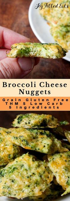 Broccoli Cheese Nuggets - Low Carb, Grain Gluten Free, THM S - If you are looking for new ways to get some green into your diet or your kids this 5 ingredient, 5 minute prep recipe will be perfect. Keto Kid friendly appetizer, side dish, snack