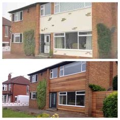 Image result for new cladding 60's house retrofit