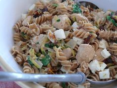 Quick healthy Chicken, basil and sun-dried tomato pasta Sundried Tomato Pasta, Sun Dried, Healthy Chicken, Pasta Dishes, Basil, Eat, Cooking, Kids, Inspiration