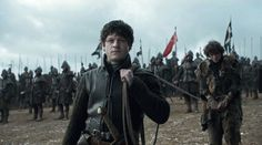 "6.09 ""Battle of the Bastards"" – Ramsay, dragging Rickon onto the field for a ""game""."